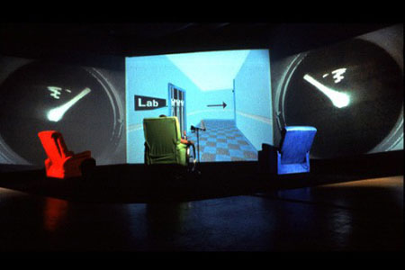 Apparitions - A clinic in virtual reality to examine the nature of the electronic body